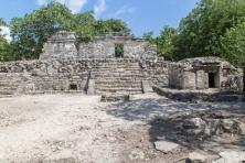 Ruines Maya à XCaret